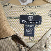 Givenchy Activewear Mens Xl Extra Large Polo Shirt Golf Golfer Club Bag X Large Photo