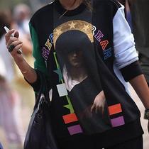 Givenchy American Dream Print Tee Sweatshirt Xsmall Photo