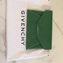 Givenchy Antigona Large Green Clutch Photo