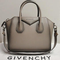 Givenchy Antigona Small Antique Effect Leather Duffel Satchel Shoulder Bag Photo