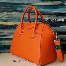 Givenchy Antigona Small Sugar Bag in Orange