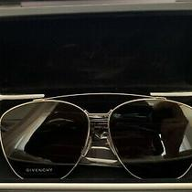 Givenchy Aviators Gv 7049/s Silver/gray Sunglasses - Brand New Photo