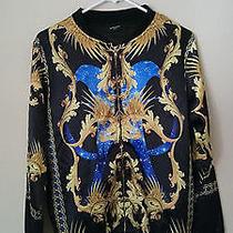 Givenchy Baroque Printed Bomber Jacket Size S Photo