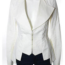 Givenchy Beige v-Neck Jacket Sz 38 Photo