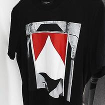 Givenchy Black Marlboro Graphic Cotton T-Shirt Mens Xs Ss14 - Brand New Photo