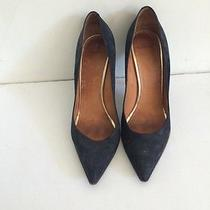 Givenchy Black Suede Heels Photo