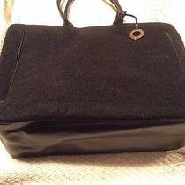 Givenchy Black Tote Handbag Shopper Carry on in Great Condition Photo