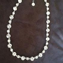 Givenchy Bridal Clear Crystal Collar Necklace Photo
