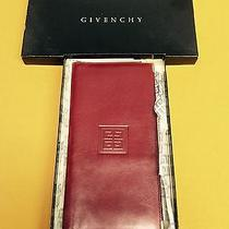 Givenchy Burgundy Leather Wallet - New in Box Photo