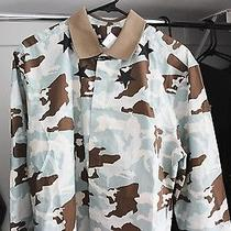 Givenchy Camo and Star Print Long Sleeve Shirt Mens 43 - Brand New With Tags Photo