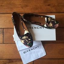 Givenchy Floral Print Slippers(retail Price 550) Photo