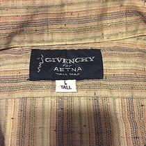 Givenchy for Aetna Vintage Dress Shirt - Stripes - Size Large Tall Photo