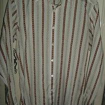 Givenchy for Chesa Vintage Casual/dress Shirt - Stripes - Size Medium Photo