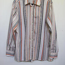 Givenchy for Chesa Vintage Dress Shirt - Stripes - Size Large Photo