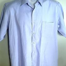 Givenchy Gentleman Paris Blue Large Short Sleeve Shirt Photo