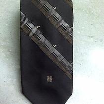 Givenchy Gentlemen  H.berk Collection Brown Tie Paris Photo