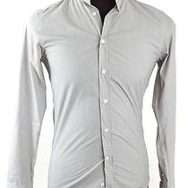 Givenchy Gray Cotton Button Down Photo