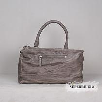 Givenchy Grey Medium Pepe Pandora Messenger Free Shipping Washed-Lambskin Photo