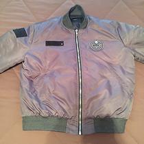 Givenchy Grey Tribal Bomber Jacket Photo