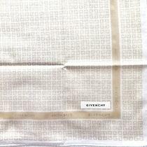 Givenchy Handkerchief Mini Scarf Cotton Purse Women Cream Monogram Authentic Photo