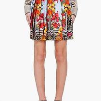 Givenchy Iris Birds of Paradise Silk Skirt / Resort Ss12 / New 2600  Photo