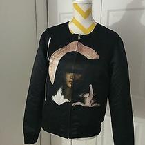 Givenchy Madonna Print Nylon Bomber Jacket Photo