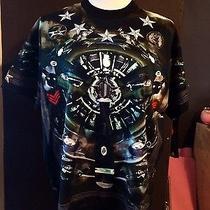 Givenchy Men's Cotton Shirt Sleeve Graphic Tshirt  Photo