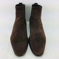 Givenchy Men's Size 40.5 / Us 7.5 Chelsea Brown Suede Chukka Boots               Photo