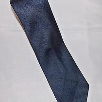Givenchy Monsieur Navy Blue Neck Tie Narrow New Vintage Retro Photo