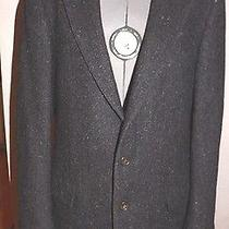 Givenchy Monsieur Paris Gray 100% Wool Two Button Career Work Dress Blazer 42 Photo