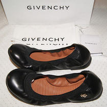Givenchy  Nappa Leather Stretch Ballerina Flats  350.00  Nwb Photo