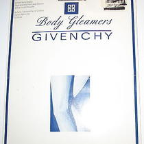 Givenchy- New - Shimmery Silver Fox - Control Top - Pantyhose - A Photo