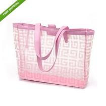Givenchy Pale Pink See Through Shopping Tote Clear Bag Handbag Photo