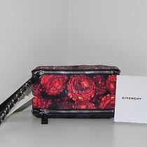 Givenchy Pandora Floral Wristlet Wallet Purse Bag  Handbag Nwt  Photo