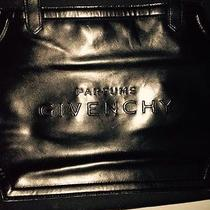 Givenchy Parfums Large Tote Bag Black Canvas Beach Bag French Photo