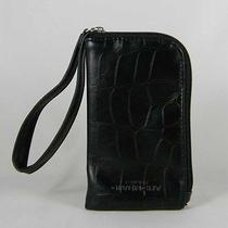 Givenchy Parfums  Mp3 Pouch / Iphone Case  Black Imitation Alligator New Photo