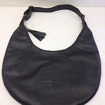 Givenchy Parfums Soft Black Hobo Bag Tote Purse Shoulder Bag  Photo