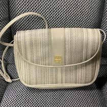 Givenchy Paris Vintage Clutch/crossbody Beige Plaid Color Photo