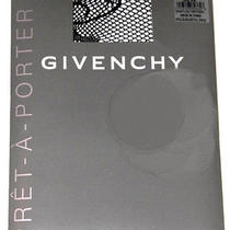 Givenchy Pret-a-Porter Set of 2 Fishnet Floral Pantyhose Tights Style 30509 A/b Photo