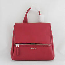 Givenchy Pure Pandora Small in Red Cherry Grained Photo