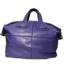 Givenchy Purple Medium Nightingale Bag Photo