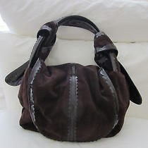Givenchy Purple Suede Handbag Photo