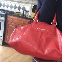 Givenchy Red Leather Bag Photo