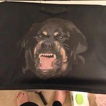 Givenchy Rottweiler-Print Clutch  Photo