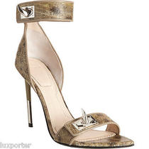 Givenchy Shark Tooth Sandals Wolf Fish 36 Photo