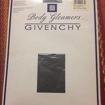 Givenchy Shimmery Ultra Sheer Body Gleamers Pantyhose Sz D Queen Nylons Lingerie Photo