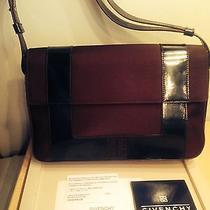 Givenchy Shoulder Bag  Brown Leather & Microfiber   Photo