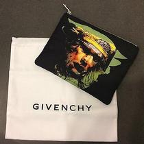 Givenchy Silkscreen Zip Pouch Clutch Wallet Men Women Nwt 350  100% Auth Photo