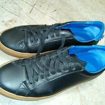 Givenchy Sneakers Blue Black Leather 9 42 Photo