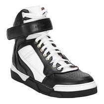 Givenchy Sneakers - Size 38 - Black & White Leather Velcro Strap - New in Box Photo